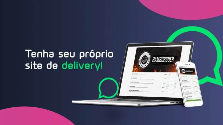 Tenha seu próprio site de Delivery